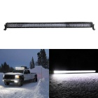500W 100-LED Off-Road 4WD UTV Car Combo Beam Driving Lamp Work Light Bar w/ Lens - Black