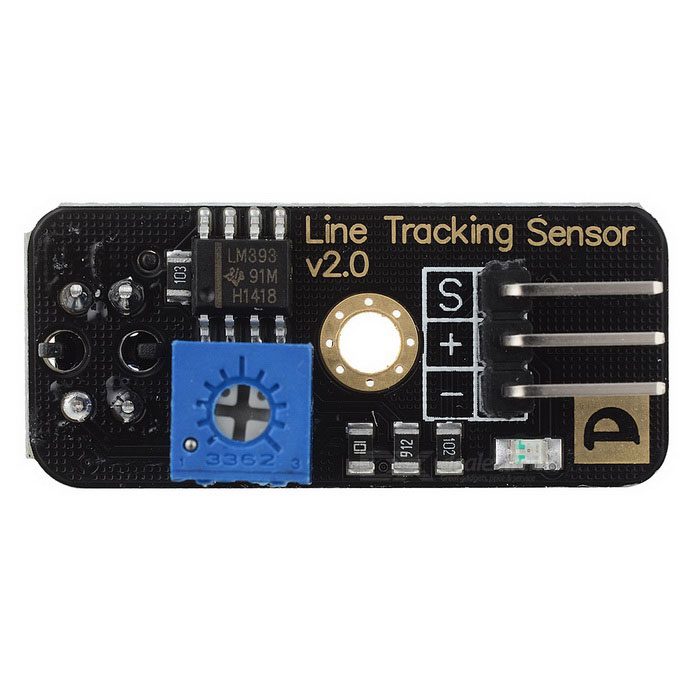 Pang Xie Wang Guo DIY Arduino Infrared Photoelectric Sensor - Black + Blue + Multicolor