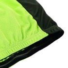 NUCKILY MH008 Quick-drying Cycling Jersey - Fluorescent Green (L)