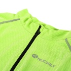 NUCKILY MH008 Quick-drying Cycling Jersey - Fluorescent Green (XL)