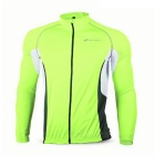 NUCKILY Quick-drying Cycling Jersey - Fluorescent Green + Black(M)