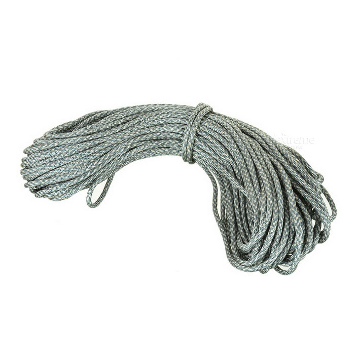 Outdoor Survival Lifesaving 7-Strand Parachute Cord Rope Paracord - ACU Camouflage (30m)