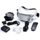 "OMiMO 3D Virtual Reality Glasses w / 5"" Screen, système OS Android - Blanc + gris argenté (US Plugs)"