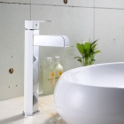 High Quality Environmentally Hydroelectric LED RGB Brass Basin Faucet -