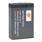 DSTE 7.2V / 1300mAh LP-E17 Battery for Canon EOS M3 micro-single-750D 760D Camera - Black