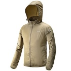 FREESOLDIER Outdoor Ultra-Slim Lightweight Men's Hoodie Jacket Coat - Khaki (Size L)