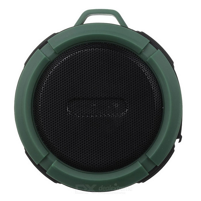 Outdoor altoparlante portatile Bluetooth Wireless Water-Resistant w / Hands-gratuito / TF-il nero + verde scuro