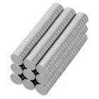 5*1.5mm Cylindrical NdFeB Magnet - Silver (200PCS)