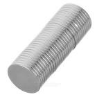 20*2mm Round NdFeB Magnet - Silver (30PCS)
