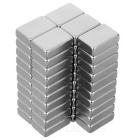 15*10*5mm Rectangular NdFeB Magnet - Silver (50PCS)