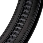 Fanshimite D02 Men's Split Leather Belt - Black (160cm)