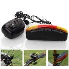 Multifunctional Bicycle Taillight with Turn Light / Electronic Horn / Brake Light - Black