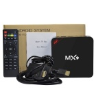 MX9 Android 4.4 RK3229 2.4G Wi-Fi Smart TV Box Online Player w / 1GB di RAM, 8GB di ROM - nero (US spine)