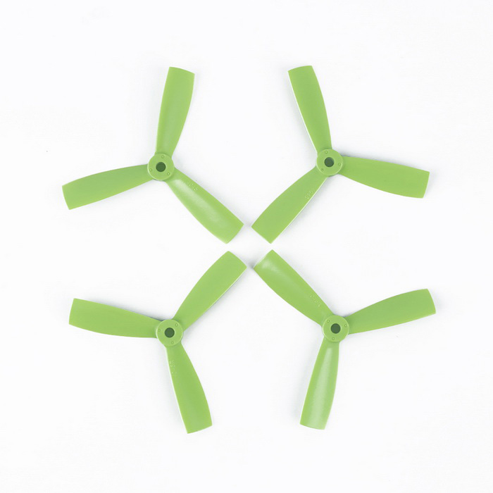 OCDAY VMAX9244 4045 3-Blade CCW & CW Propellers for H20 - Green (2 Pairs)