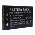 3.7V 1200mAh FNP-60 / K5000 / SLB-1137 / LI-20B / Battery for FUJIFILM / RICOH / OLYMPUS / CASIO