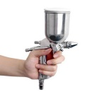 Spray Gun Paint Tool Air Brush - Silver