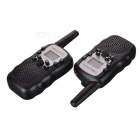 Walkie Talkie w/ 5 to 8KM Range, 22 USA Channels, 8 Europe Channels, Flash Light, Keypad Lock