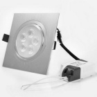 YouOKLight 5W 500lm 3000K 5-LED Warm White Ceiling Spotlight - Silver (85~265V)