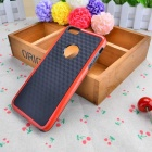 Stylish 3D Carbon Fiber Style Protective Back Case for IPHONE 6 PLUS / 6S PLUS - Black + Red