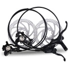 JCSP Bike Bicycle Hydraulic Disc Brake Set - Black
