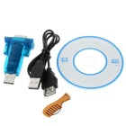 Mini USB para RS232 adaptador de porta serial - Blue-Green