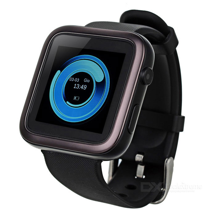 Ordro CK1 Bluetooth 4.0 Smart Watch Support SIM med pedometer