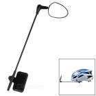 CTSmart Cycling Bike Helmet Mounted Safety Rearview Mirror - Black