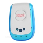 Multifunctional Ultrasonic Electronic Insect Rat Repeller - White + Blue (UK Plug)