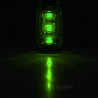 Leadbike Outdoor 3-Mode Green LED Safety Backpack Light / Helmet Lamp