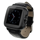 Ordro SW18 Waterproof Bluetooth V3.0 Smart Watch Support SIM / TF Card - Black