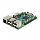 Raspberry Pi 3 Model B Cortex-A53 Quad-Core Board w / 1GB RAM - Vihreä