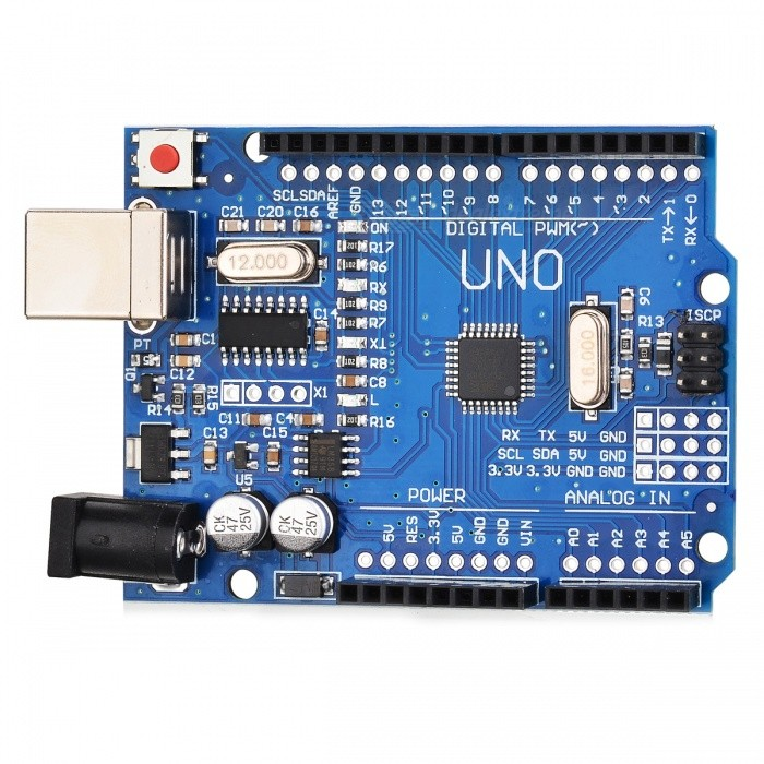 Improved version uno r atmega p board compatible with