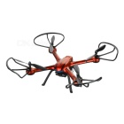 JJRC H11D 5.8G FPV 2.0MP 4CH RC Quadcopter w/ LED Light / Headless Mode - Orange + Black