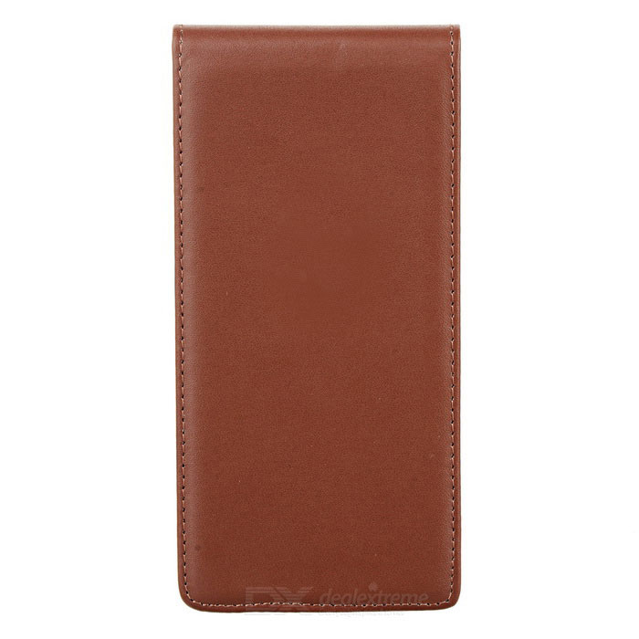 Protective Top Flip Open Leather Case Cover for Sony Xperia Z5 - Brown