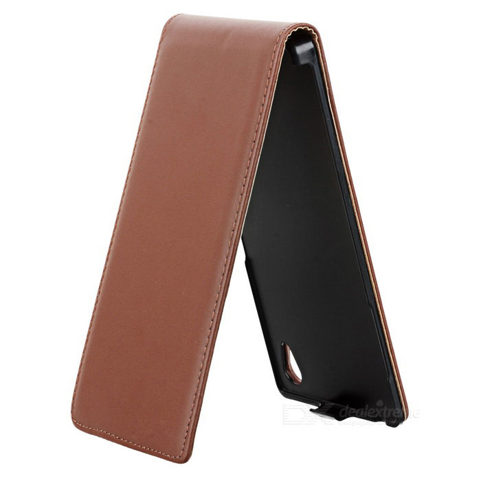 Housse protectrice flip top ouvert etui cuir sony xperia for Housse protectrice