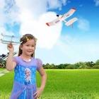 uplane Bluetooth V4.0 Remote Control Smart Slow Flyer Airplane Toy - White + Blue