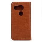 Protective Second Layer Sheepskin Case w/ Card Slots for LG Nexus 5X - Brown
