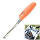 BBQ Spare Tool Flame Lighter Igniter w/ Lengthened Handle - Orange