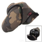 JJC OC-MC2 Thickened Protective Camouflage DSLR Camera Bag for 600D, 650D + More - Brown + Green