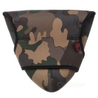 JJC OC-MC2 espessamento protetora Camouflage DSLR Camera Bag para 600D, 650D + More - Brown + Verde