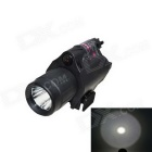 ACCU M6 Multifunctional 2-in-1 LED 350lm White Flashlight + Red Laser
