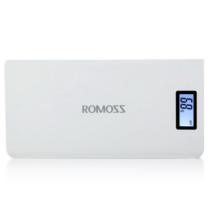 ROMOSS Sense 6 Plus LCD 20000mAh External Battery Pack Portable Charge