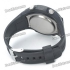 Taxa CS-002 Coração Digital watch w / Elastic Chest Belt - preto