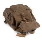 CADEN F5 Professional Nylon Camera Backpack - Coffee