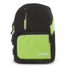 CADEN D5 Camera Shoulder Bag for Canon, Nikon - Black + Emerald Green