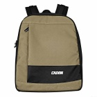 CADEN D6 Water-Resistant Nylon Camera Shoulders Bag Backpack - Army Green