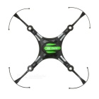 Replacement Spare Parts ABS Upper Body Shell for JJRC H8mini - Black + Green