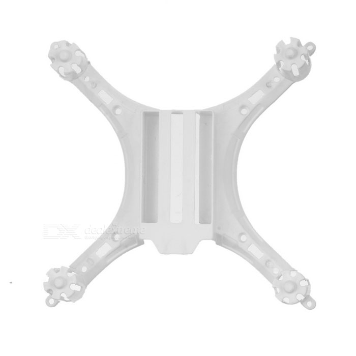 Replacement Spare Parts ABS Lower Body Shell for JJRC H8mini - White