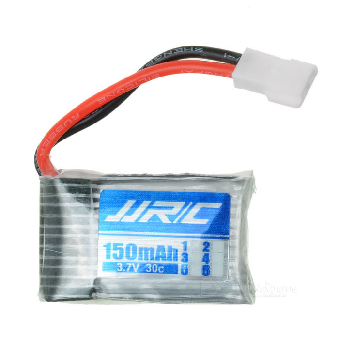 Replacement 3.7V 150mAh Battery for JJRC H8mini - Silver + Blue