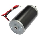 DC24V 8000RPM Strong Magnetic High Torque Tubular Motor - Black